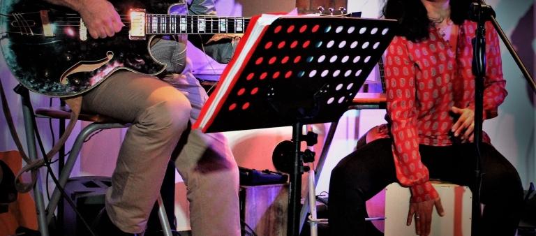 Cheval 2 Trois sur scène
